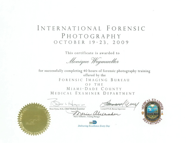 Forensic Photography, high speed photography